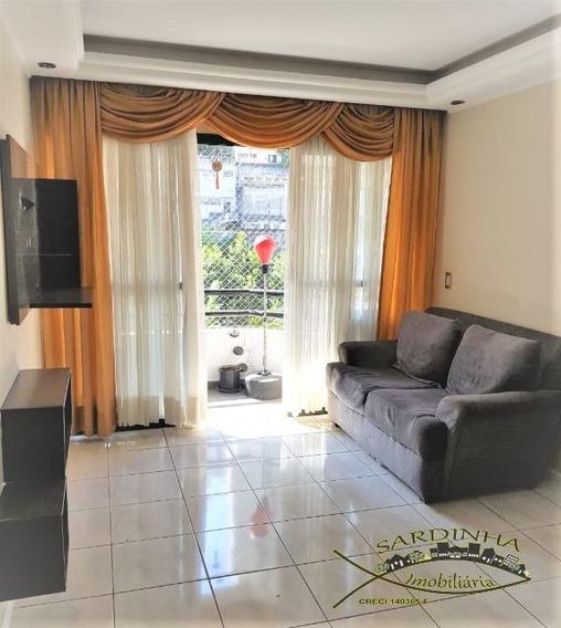 Apartamento Mobiliado Para Locação - 85m² Com Armários, 3 Dormitórios, 1 Suíte, Área De Serviço E 1 Vaga De Garagem - Vila Andrade - Morumbi - Sp - Ml1279