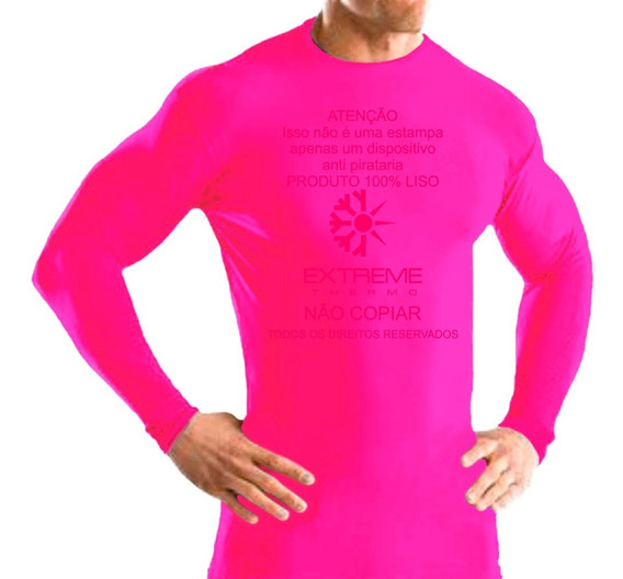 Camisa Térmica Segunda Pele Proteção Uv Extreme Thermo Mista