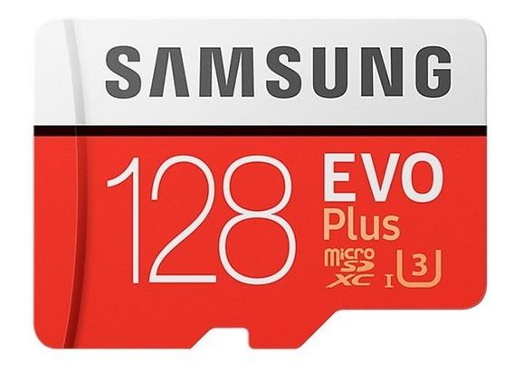 Cartão Samsung Micro Sd Sdxc Evo Plus 128 Gb Classe 10 Sd U3