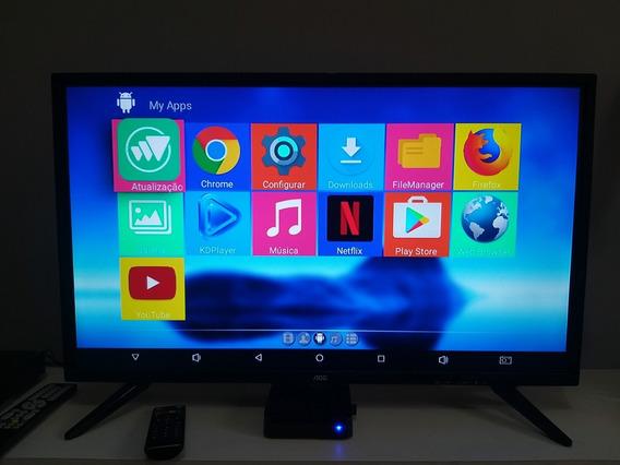Tv Led 32 Aoc Com Conversor Digital Integrado