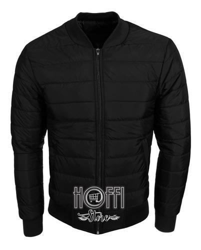 Chaqueta Hombre Negra Bomber Jacket