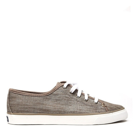 Tenis Sperry Mujer Cafe Taupe Sts97642