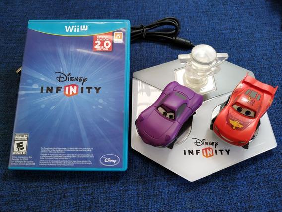 Disney Infinity 2.0 Nintendo Wii U + Base + Kit Carros Usado