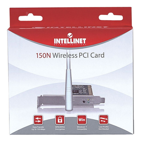 Tarjeta Red Inalambrica 150n Pci - Intellinet