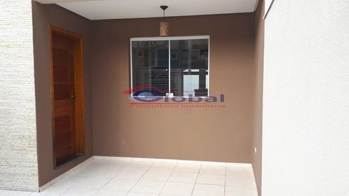 Sobrado Em Condomínio - Pq. São Vicente - Mauá - Gl39174