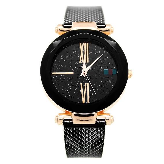 Reloj Dama Mujer Mestre Negro