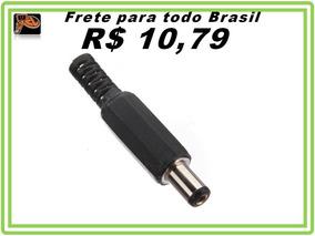 Plug Conector Macho P4 Pra Soldar Kit 15 Pecas Pronta Entreg