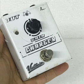 Pedal De Gain Booster Charger Victoria Pedals - Usado!!