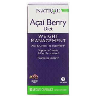 Açai Berry Diet - 60 Caps - Natrol - Envio Rápido
