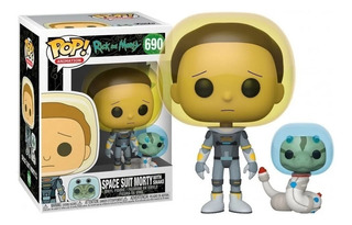 Funko Pop Rick And Mortly Space Suit Morty With Snake 690