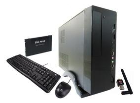 Mini Cpu Desktop Intel Core I3 8gb Ddr3 Hd 120gb Ssd+wifi