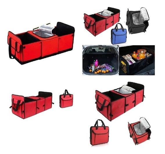 Organizador De Porta Mala Cooler Carro Sacola Portatil Bolsa