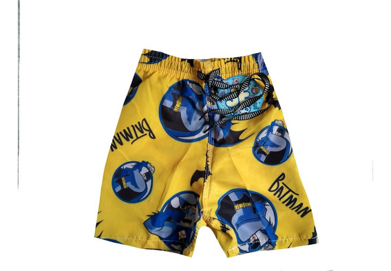 Kit 5 Shorts Tactel Infantil Menino Mauricinho Praia Verão