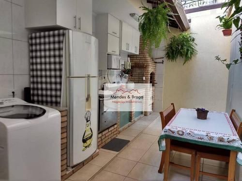 Bosque Dos Pássaros Sobrado Com 4 Dormitórios À Venda, 180 M² Por R$ 899.000 - Gopoúva - Guarulhos/sp - So0175