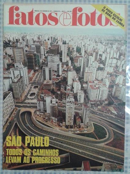 03/02/1972 Revista Fatos E Fotos Nº 574 São Paulo Progresso