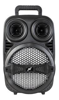 Parlante Bluetooth Led Portatil Fm Mic Sd Twins Alto Sonido