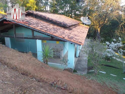 Imagem 1 de 26 de Chácara Com Escritura, 03 Dormitórios À Venda, 2300 M² Por R$ 340.000 - Rural - Socorro/sp - Ch0501