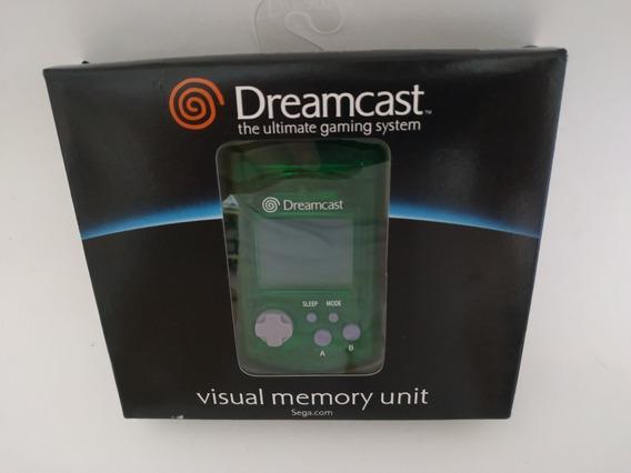 Vmu Visual Memory Card Sega Dreamcast Original Novo Caixa