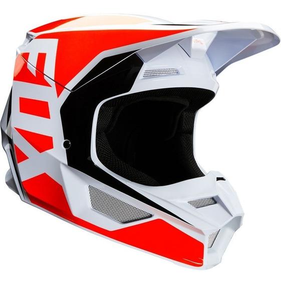 Casco Fox V1 Prix Nar/flo Motocross 2020 Rzr Enduro Atv Mtb