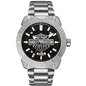 Relógio Masculino Bulova Harley Davidson Esporte Wh30546t