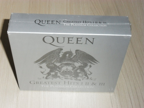 Box Queen Greatest Hits Platinum Collection (3 Cds Lacrado)
