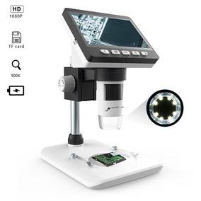 Microscópio Digital Portátil Zoom1000x Tela Lcd 4.3 Hd 3.6mp