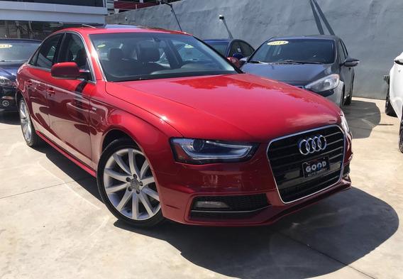 Audi A4 2014, Rojo, Motor:2.0, 4 Puertas