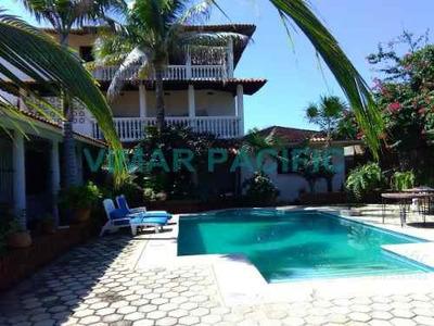 Casa Con Frente De Playa En Venta Puerto Escondido Oaxaca