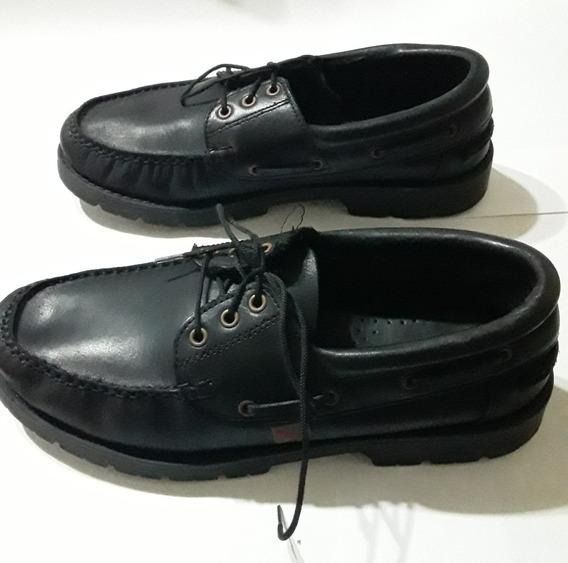 Zapato Escolar Colegial Marcel Acordonado
