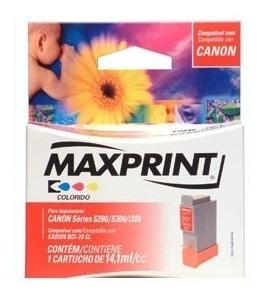 Cartucho Canon Bci-24 Cl Colorido Maxprint(vencido)lacrado!
