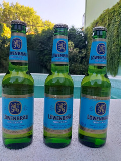 Cerveza Lowenbrau. Importada. Alemana