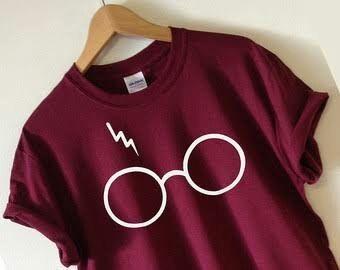Playera, Harry Potter, Lentes