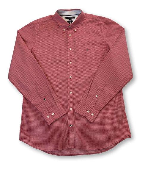 Tommy Hilfiger Camisa Slim Fit En Diseño De Círculo De Diama