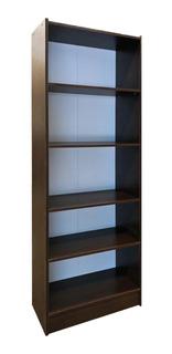 Biblioteca 5 Estantes 60x180 Melamina Librero Hogar Oficina*
