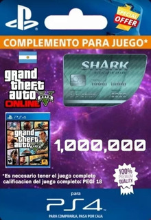 Dinero Para Gta V Online Ps4 $1.000.000
