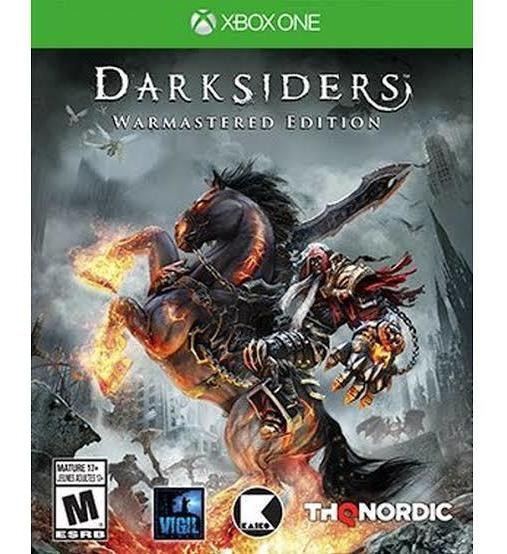 Darksiders Warmastered Edition Xbox One 25 Digitos 100% Orig