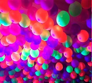 Balão Bexiga Latex Pic Pic Neon Sortido 9 Polegadas