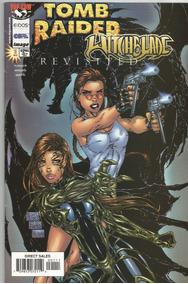 Kit De Revistas Em Qudrinhos - Witchblade & Tomb Rider
