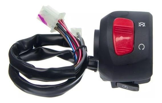 Interruptor Emergência Partida Ybr 125 E/ed Factor 09 Até 13