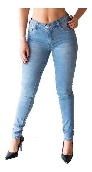 Calça Feminina Lança Perfume Jeans Skinny Novo Modelo Diana