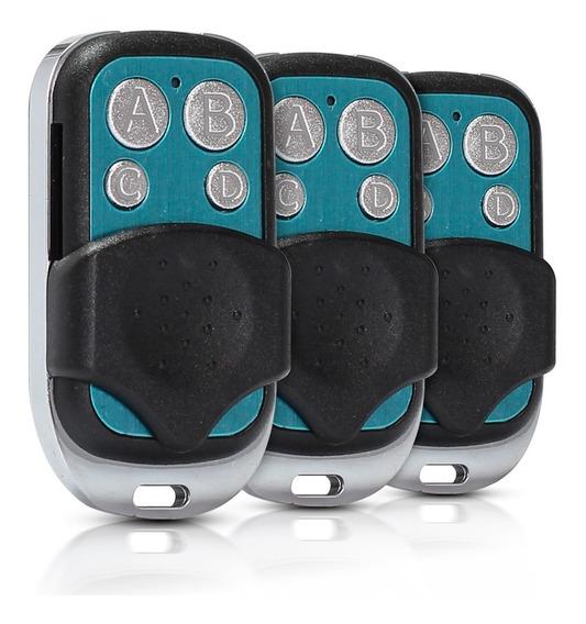3 Controle Remoto Portão Alarme Duplicador Copiador Clone