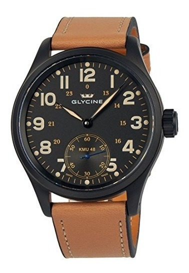 Reloj De Pulsera Pvd 48 Kriegs Marine Uhren De Glycine Marin