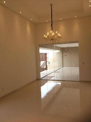 Casa Com 3 Dormitórios À Venda, 200 M² Por R$ 770.000 - Condominio Village Dhama - Mirassol/sp - Ca1837