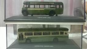 Set 2 Miniaturas Onibus 1/76 Original Bus Leyland Limitada