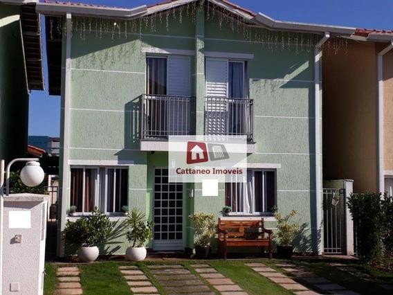Casa Com 4 Dormitórios À Venda, 142 M² Por R$ 750.000 - Nativo Clube - Cotia/sp - Ca0162