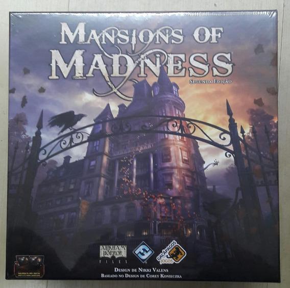 Jogo Mansions Of Madness Segunda Edição Mom001