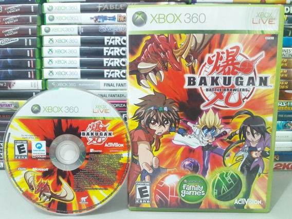 Bakugan Battle Brawlers Xbox 360 - Games no Mercado Livre Brasil