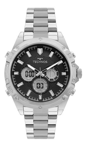 Relógio Technos Analógico Prata Bj3814aa/1p