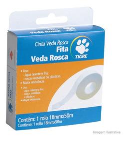 Fita Veda Rosca 1,8cm 50 Metros Tigre Tigre