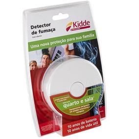 Kit 44 Pcs Detector De Fumaça Com Alarme Sala Quarto Kidde